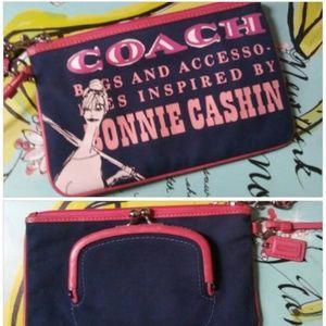 Limited Edition Coach Bonnie Cashin Wristlet Rare